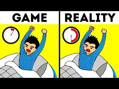 What Happens in Real Life But Not in Video Games?