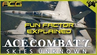 Ace Combat 7: Skies Unknown - Funfactor Explained
