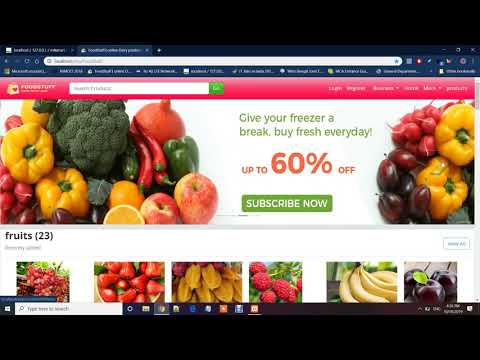 online shopping project in PHP with source code | e-commerce website| Divya Suman | Student Project