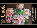 Pink Roses by Curran Acrylic Painting Tu