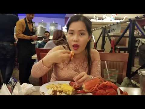 Mus noj lobster buffet at table mountain casino os