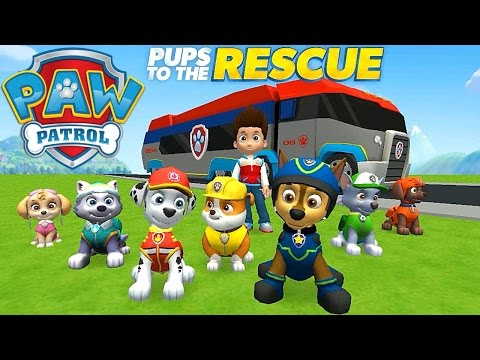 Paw Patrol Pups to the Rescue Gameplay