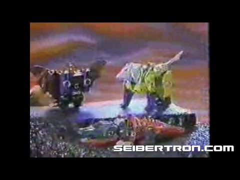 Transformers G1 Headmasters Decepticons commercial 1987