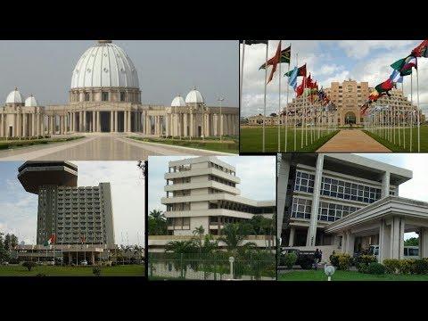 Yamoussoukro ville ivoirienne / cote d'ivoire découverte
