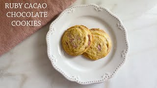 Ruby Cacao Chocolate Cookies Recipe!