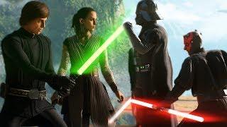 Star Wars Battlefront 2: Heroes vs Villains Full Match
