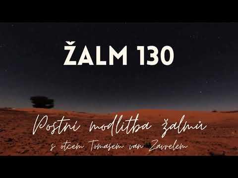 Žalm 130 - postní modlitba