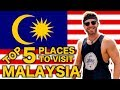 TOP 5 PLACES in MALAYSIA 🇲🇾