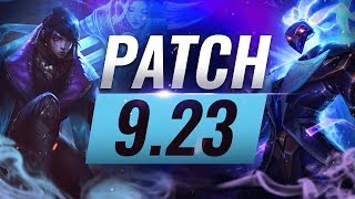 Best Champions TIER List - League of Legends Patch 9.23