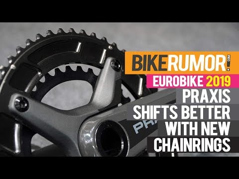 New Praxis Levatime 2 chainrings make for stiffer, stronger & smoother road bike shifting