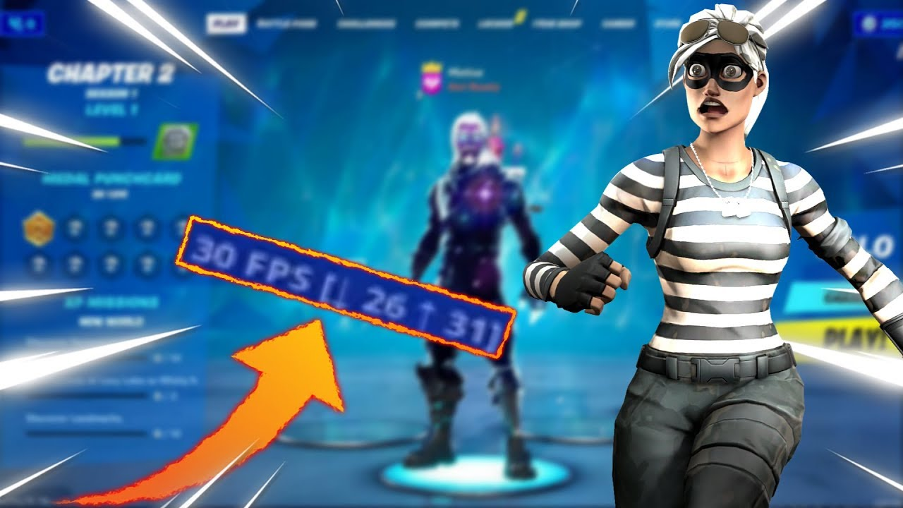 Fortnite Mobile 30 Fps In The Lobby Bug Epicgames Answer Youtube