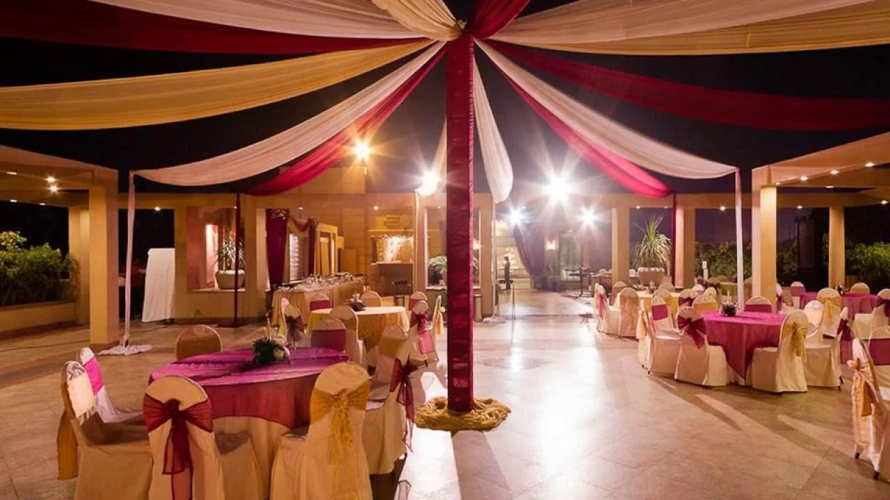 Sangeet decoration ideas at banquet halls in Mumbai - YouTube