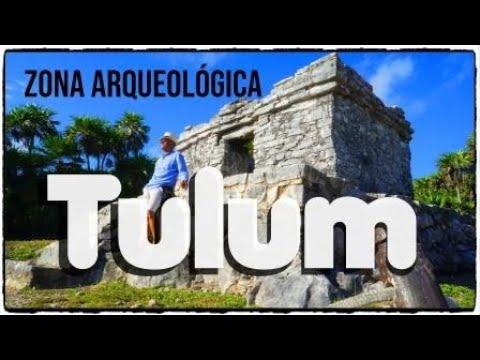 TULUM ZONA ARQUEOLÓGICA Y PLAYA PESCADORES  MÉXICO..