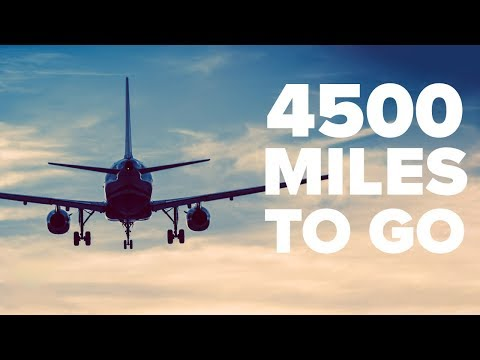 4500 Miles to go - Travel Vlog 2019