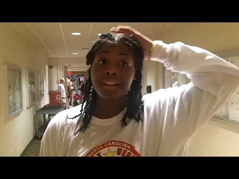 Interview with Jadyn Murray from Northwest Guilford High School at East-West All-Stars Game