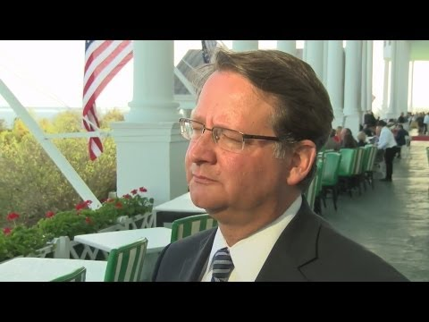 Congressman Gary Peters responds to latest polling data while at Mackinac Policy Conference