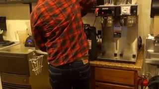Comprando um café e pagando com Bitcoin