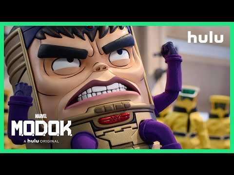 Marvel's M.O.D.O.K. - Trailer (Official) • A Hulu Original