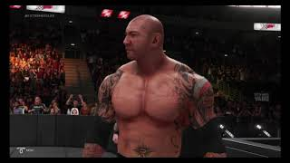 WWE 2K19 the shelid vs evolution 3 on 3 elimination falls count anywhere Match