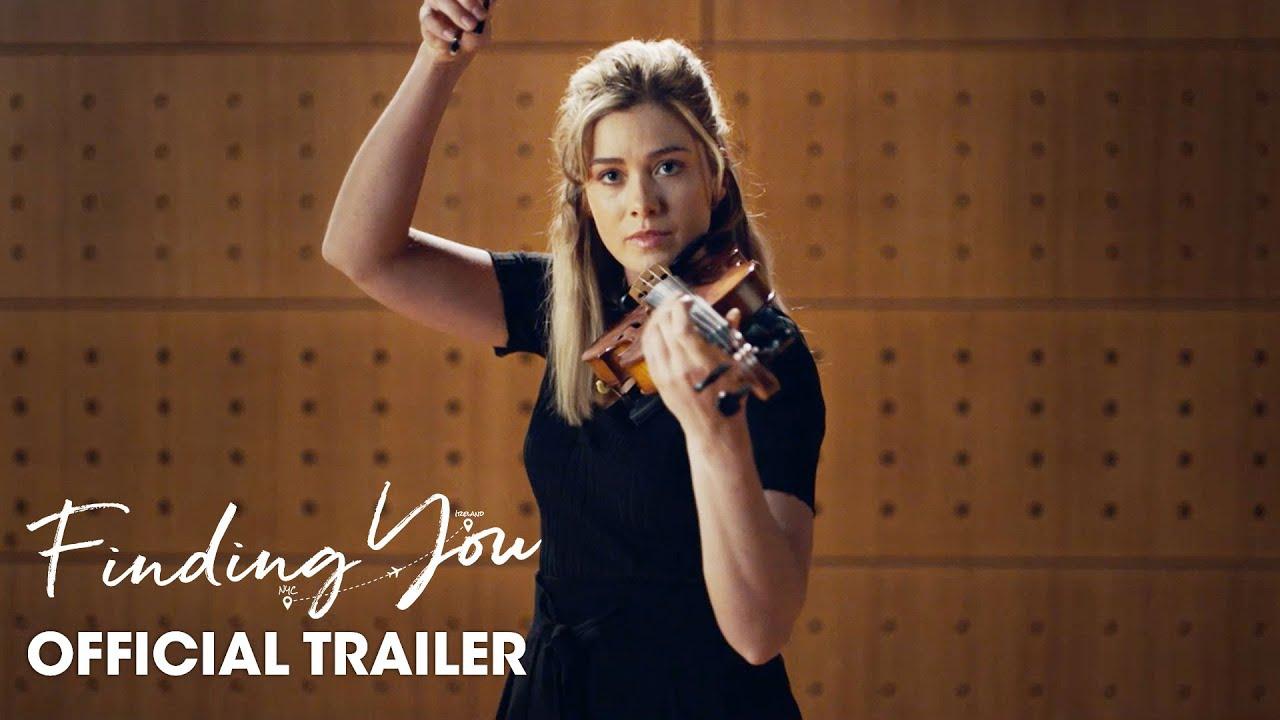Download Finding You (2021 Movie) Official Trailer - Katherine McNamara, Vanessa Redgrave, Judith Hoag
