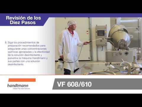 Handtmann Maschinenfabrik - VF 608 / 610 - Spanish Instructions - ES