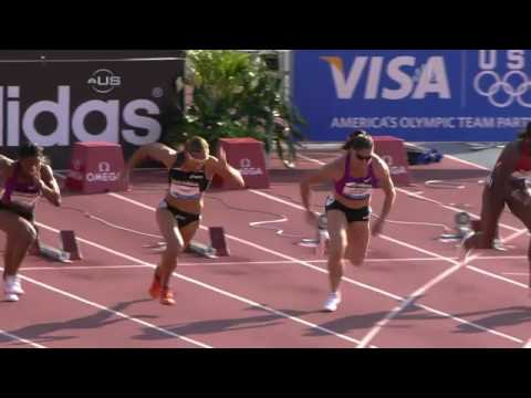 Lolo Jones 3 for 3 in Diamond League - from Universal Sports