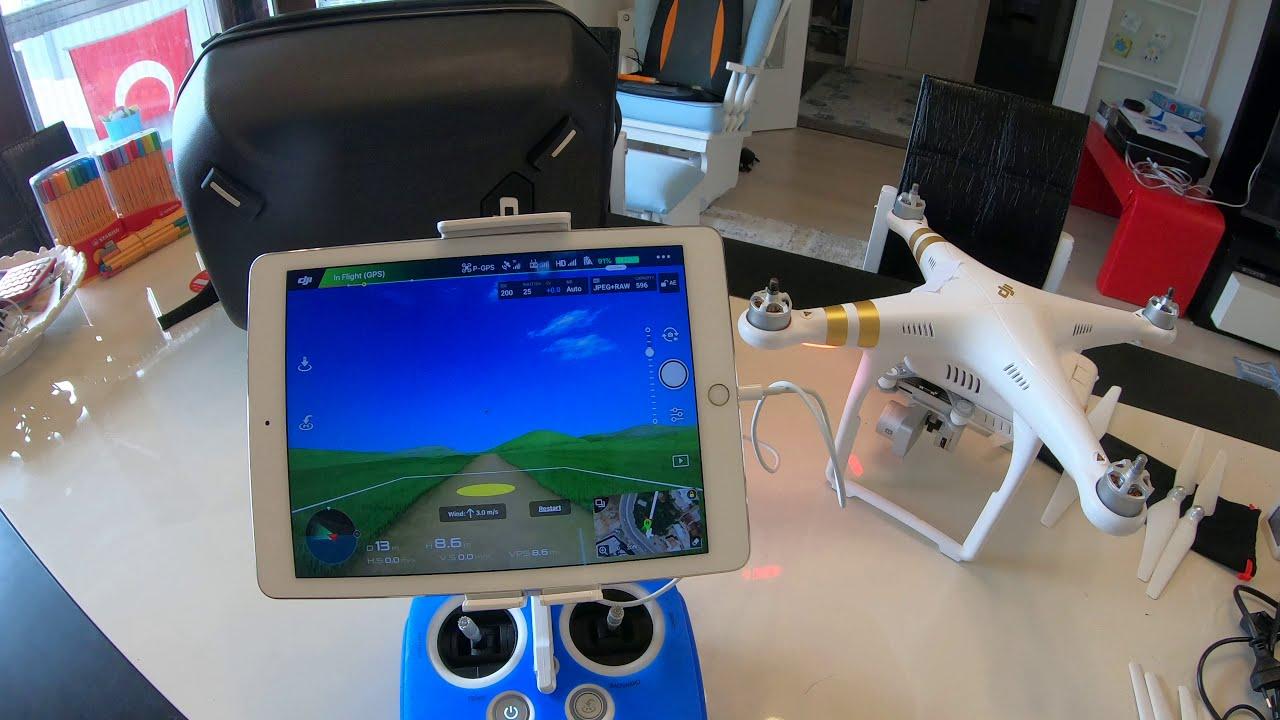 DJI Phantom 3 Pro Uçuş Ayarlar DJI GO Simulator 2 фото