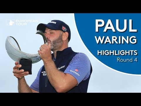 Paul Waring Final Round Winning Highlights   2018 Nordea Masters