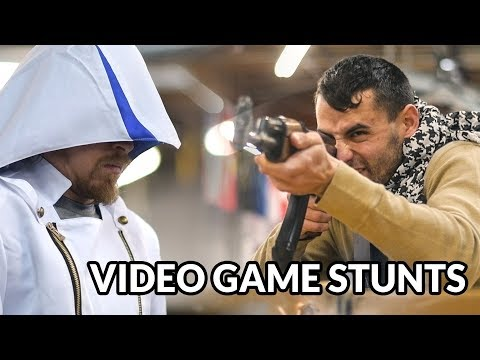 VIDEO GAME STUNT TRIBUTE - (Assassin's Creed + Metal Gear + Witcher + Uncharted + God of War)