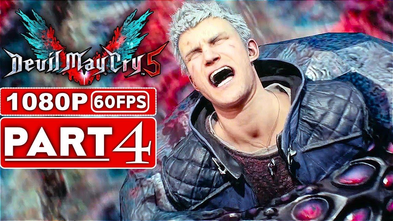 TEUFEL MAI SCHREI 5 Gameplay Walkthrough Teil 4 [1080p HD 60FPS Xbox One X] - Kein Kommentar (DMC 5) + video
