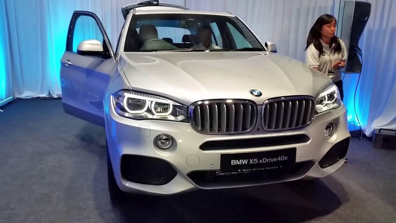 Bmw X5 Plug In Hybrid Phev 2017 Xdrive40e Walkaround Malaysia Bmwx5edrive40