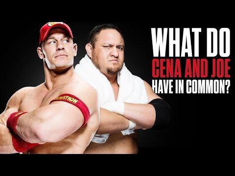 What bond does Samoa Joe share with John Cena?