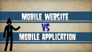 Mobile Websites v Mobile Apps by Top Edge Marketing