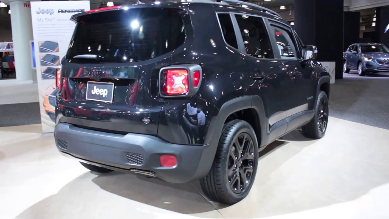 2016 jeep renegade latitude exterior walkaround price. Black Bedroom Furniture Sets. Home Design Ideas