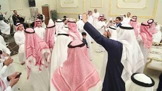 مصري يشعل فرح سعودي في جدة بأغاني شعبية 2018  الفنان أمين عاكف