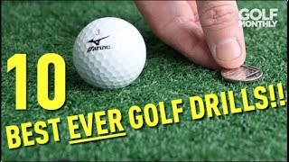 In this video, Ged Walters offers the 10 most useful drills he offers in his coaching to help you shoot lower scores! ▻ Become a FREE SUBSCRIBER to Golf ...