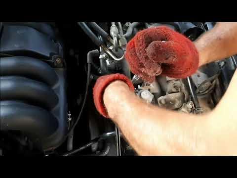 Замена клапанов печки на Mercedes W140