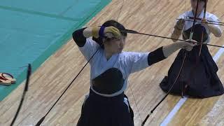 2018年 第48回全関東学生弓道選手権大会  大東文化大学VS中央大学(女子) 準決勝戦