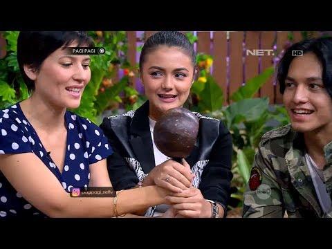 Hannah Al Rashid, Amanda Rawles dan Jefri Nichol Bermain Jaelangkung di Pagi-pagi