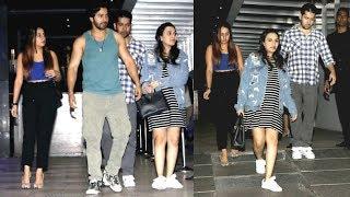 Varun Dhawan With Girlfriend Natasha Dalal And His Family On A Dinner Date At Yauatcha, BKC