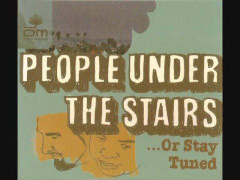 People under the stairs- yo