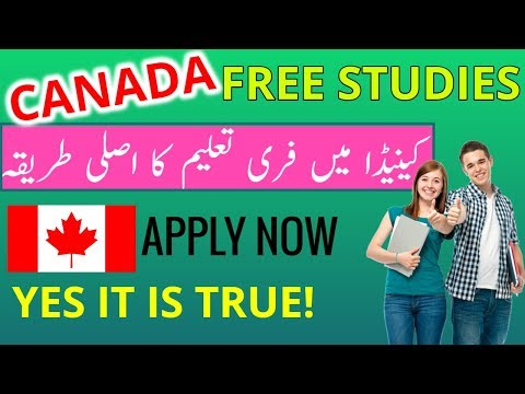 HOW TO STUDY IN CANADA FOR FREE