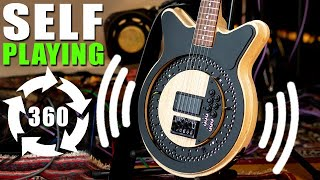 Self Playing Circle Guitar