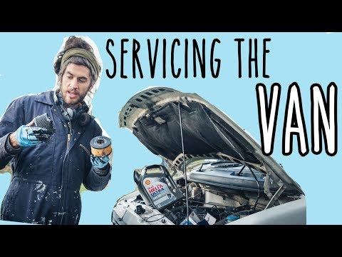 Making the van run nice –and preparing it for Norway!