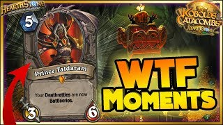 Hearthstone - WTF Moments - Kobolds and Catacombs Rng Moments