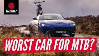Is This The Worst Car For MTB? | Can A Supercar Be A Mountain Bikers Car?
