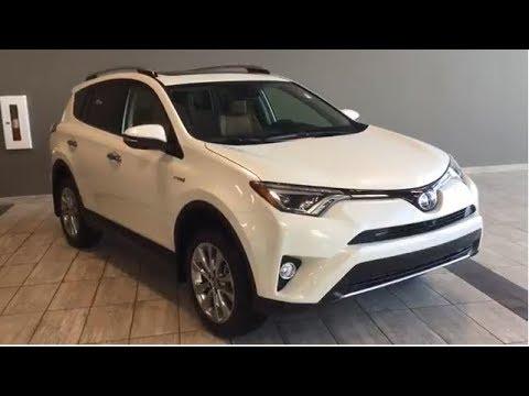 2018 Toyota RAV4 Hybrid Limited, Tech Package   Toyota Northwest Edmonton   8RH9117