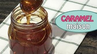 Caramel liquide maison recette facile et inratable