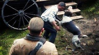 Червоний мертвий викуп 2 - Пошук зниклих собак в полуничний