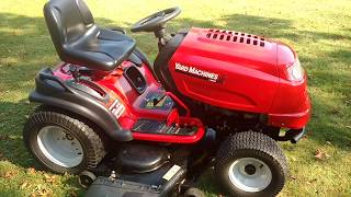 MTD Yard Machines 24hp Lawn tractor review after 9 years of ownership tractor video